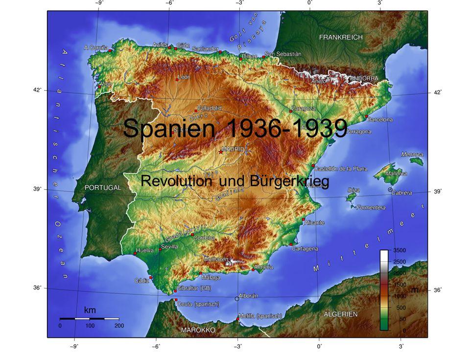 Spanien 1936-1939 Revolution und Bürgerkrieg