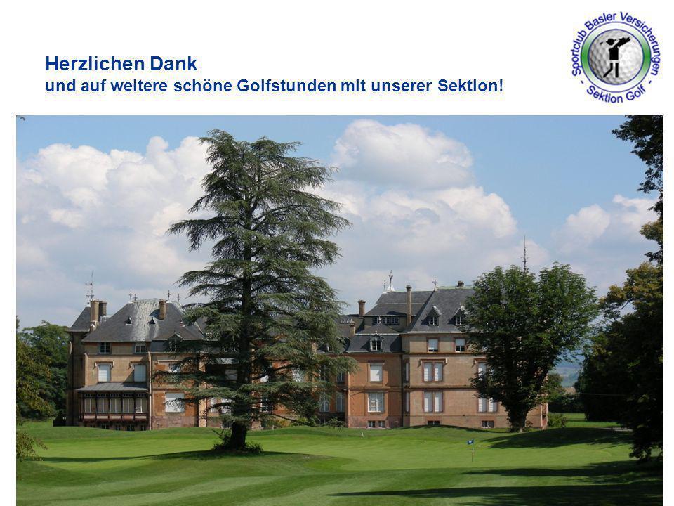 www.baloise.ch Herzlichen Dank und auf weitere schöne Golfstunden mit unserer Sektion! 19. Mai 201415
