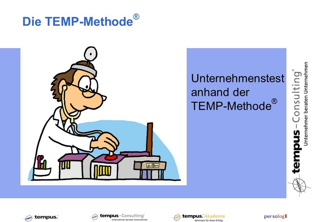 Unternehmenstest anhand der TEMP-Methode ® Die TEMP-Methode ®