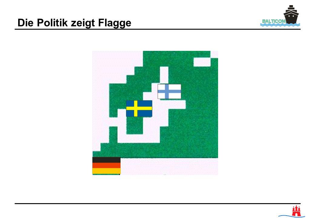 Die Politik zeigt Flagge