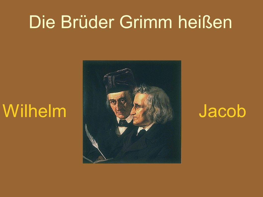 Wann sind Wilhelm und Jacob geboren ?