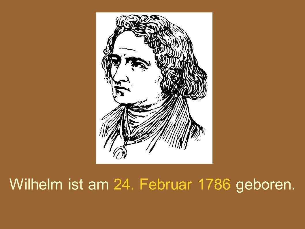 Jacob ist am 20.September 1863 gestorben. Wilhelm ist am 16.
