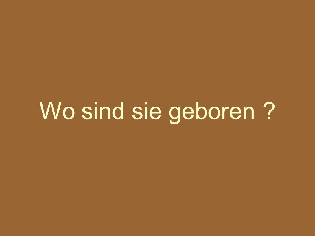 Die Brüder Grimm sind in Hanau geboren.