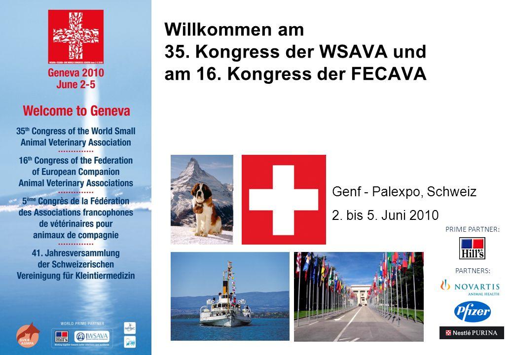 Willkommen am 35. Kongress der WSAVA und am 16.