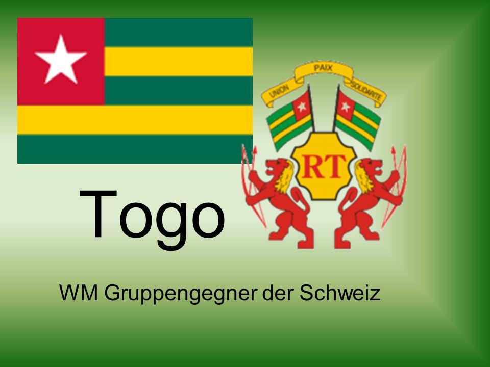 Togo WM Gruppengegner der Schweiz