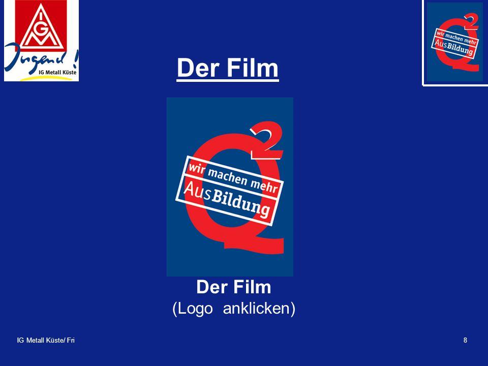 IG Metall Küste/ Fri9 Was ist Q 2 .Der Film –Informiert, motiviert, verdeutlicht...