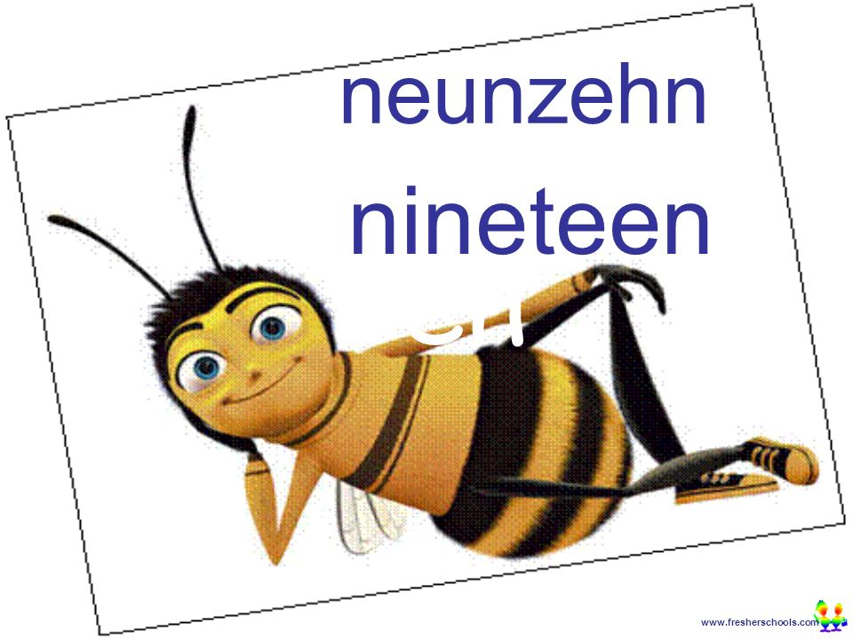 www.fresherschools.com Ben neunzehn nineteen