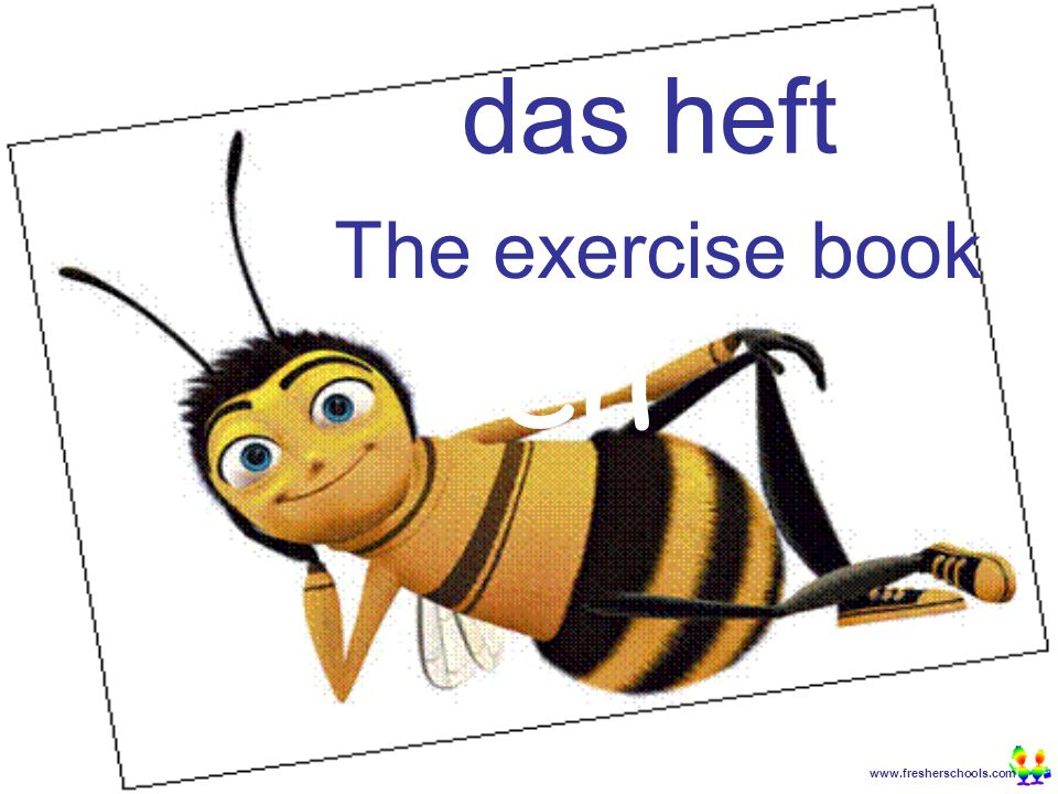 www.fresherschools.com Ben das Tagebuch The diary