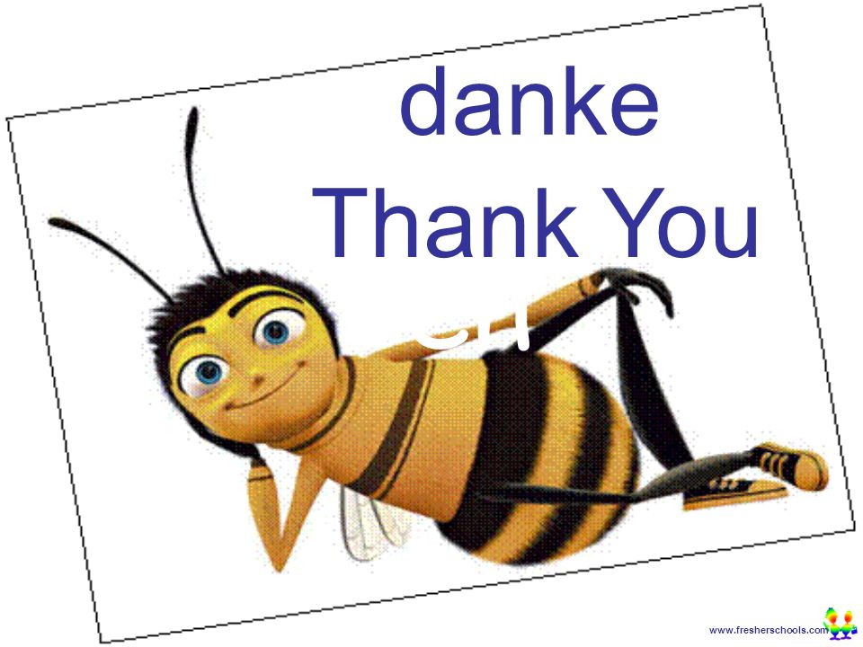 www.fresherschools.com Ben danke Thank You