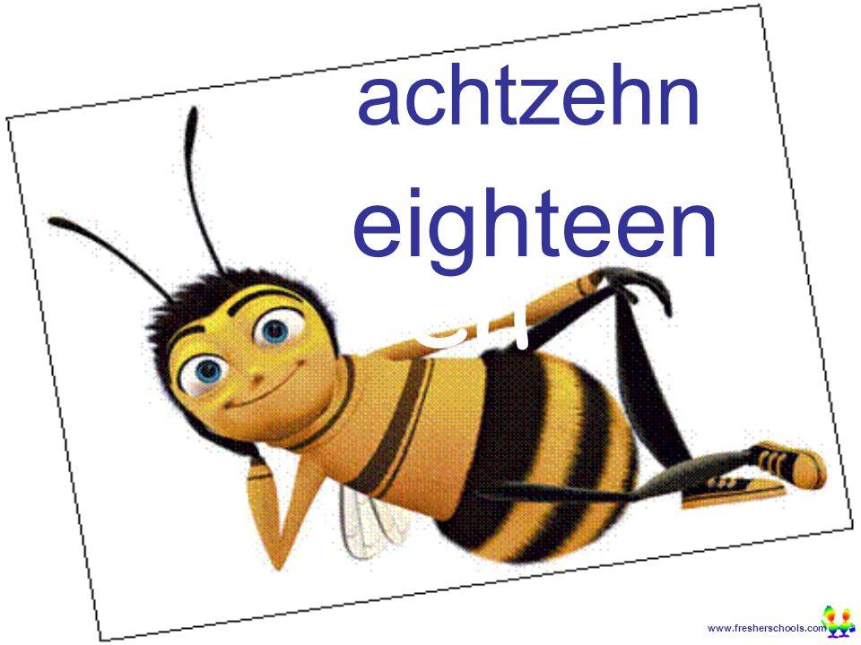 www.fresherschools.com Ben achtzehn eighteen