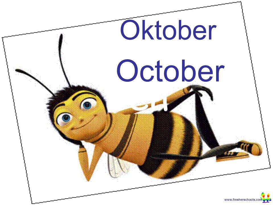 www.fresherschools.com Ben Oktober October