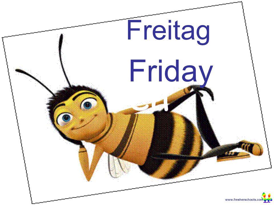 www.fresherschools.com Ben Freitag Friday