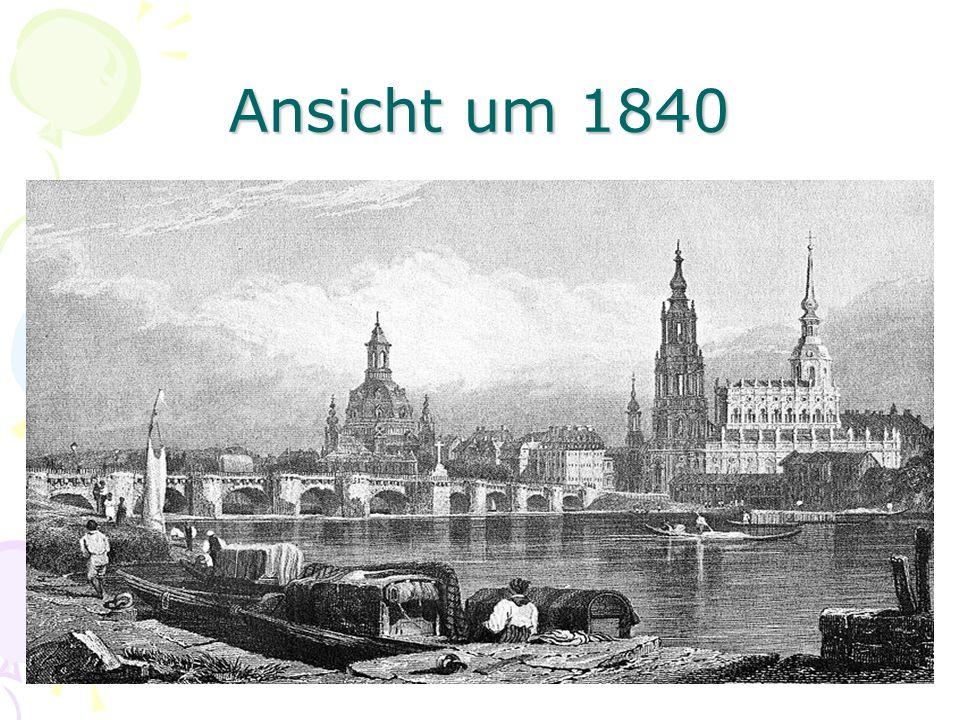 Ansicht um 1840