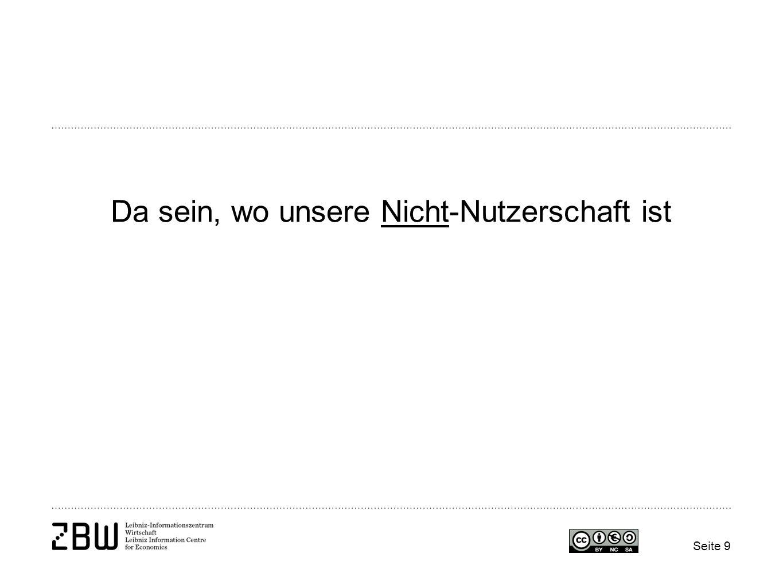 Fragen und Diskussion Gern auch später unter: Nicole Krüger ZBW - Leibniz-Informationszentrum Wirtschaft n.krueger@zbw.eu 0431 8814 310 Seite 30
