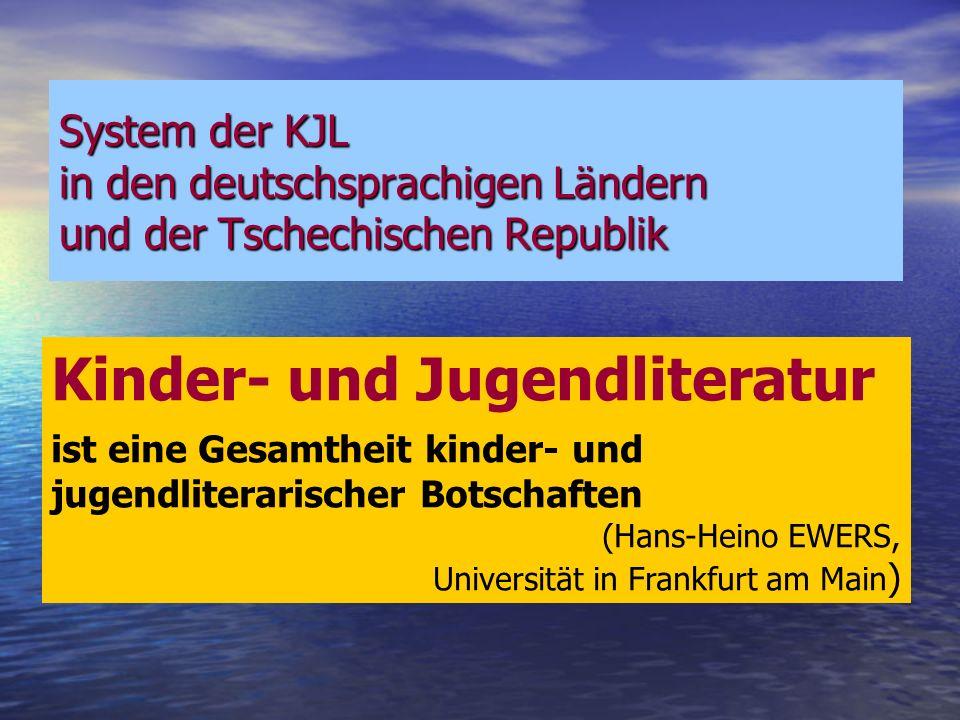 Kinder- und Jugendliteratur (Hans-Heino EWERS, Malte DAHRENDORF, Carsten GANSEL etc.) Symbolsystem der KJL 1.