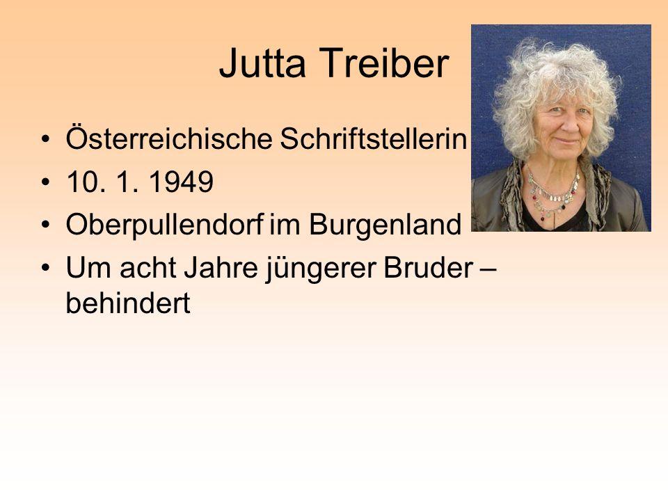 Jutta Treiber Österreichische Schriftstellerin 10.