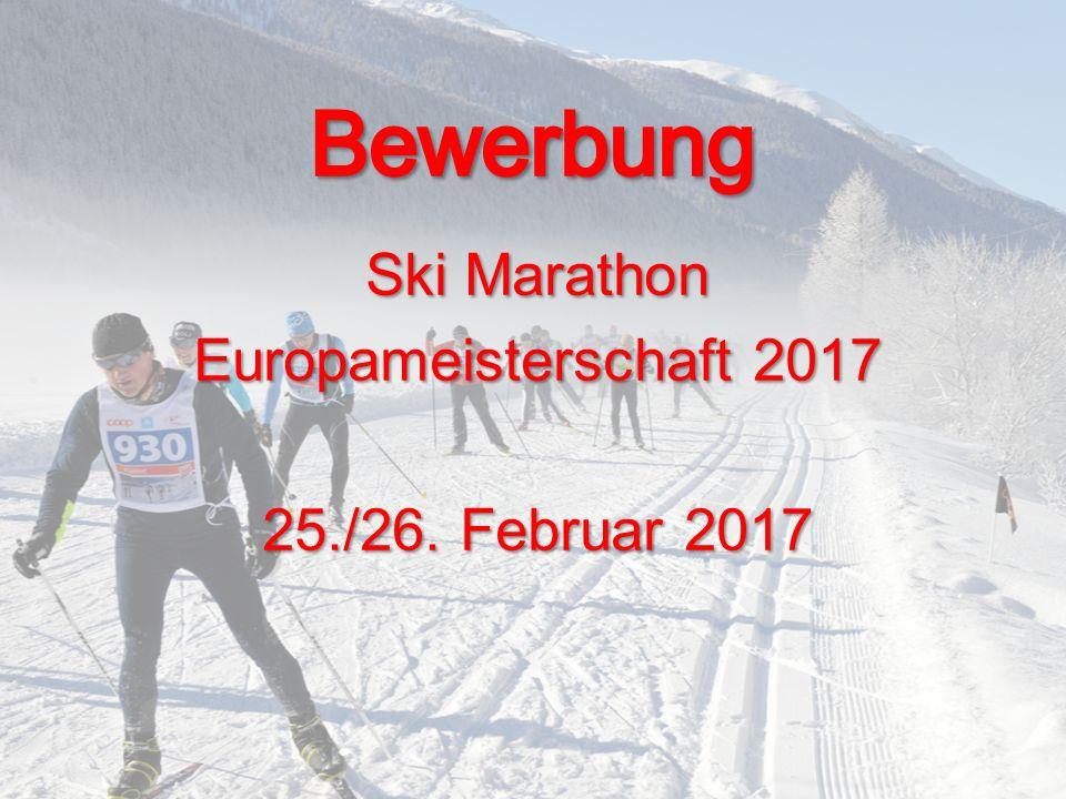 Ski Marathon Europameisterschaft 2017 25./26. Februar 2017