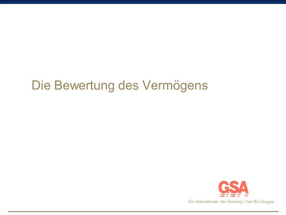 Ein Unternehmen der Grontmij | Carl Bro Gruppe Bewertung Die Vermögensbewertung kann analog zu den Empfehlungen der kommunalen Landesverbände in Schleswig-Holstein und Rheinland-Pfalz erfolgen.