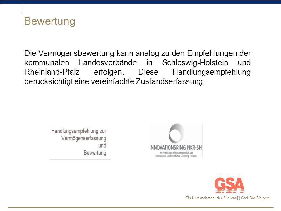 Ein Unternehmen der Grontmij | Carl Bro Gruppe Von der Erfassung zur Zustandskennziffer