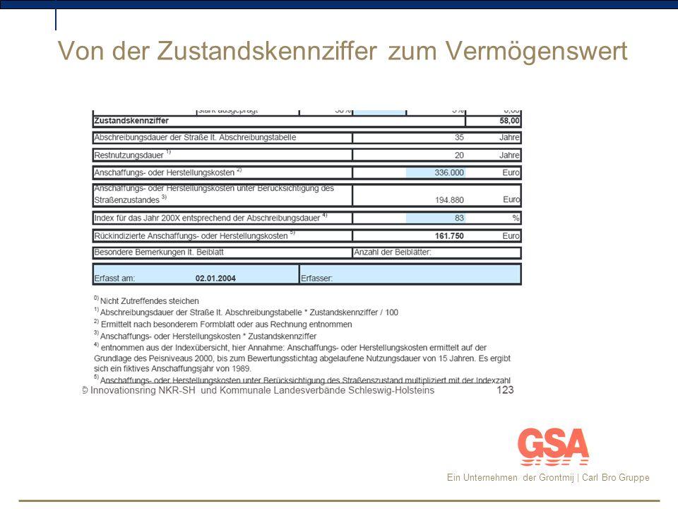 Ein Unternehmen der Grontmij | Carl Bro Gruppe Fortschreibung §47 Abschreibungen