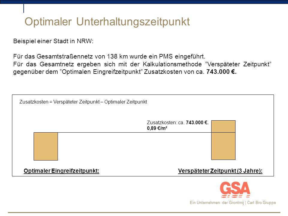 Ein Unternehmen der Grontmij | Carl Bro Gruppe Detaillierte Maßnahmenvorschläge für jede Straße: Maßnahmenpläne