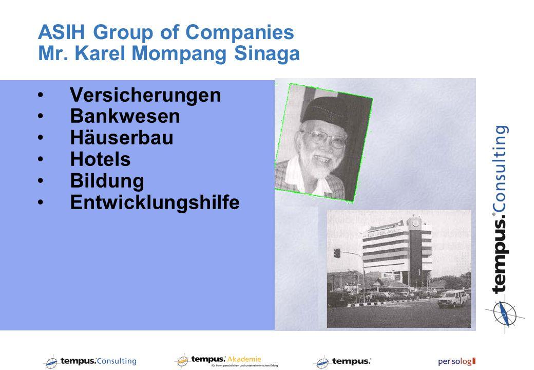 ASIH Group of Companies Mr.