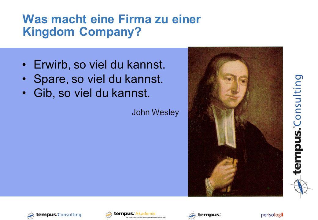 Was macht eine Firma zu einer god@work-Company.1.
