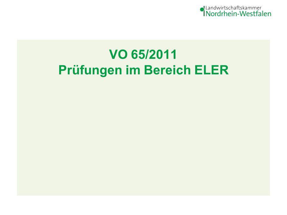 VO 65/2011 Prüfung ELER 2 28.
