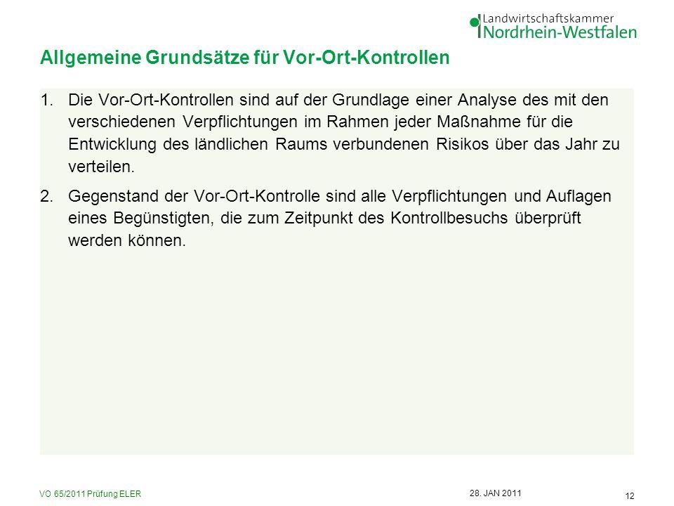 VO 65/2011 Prüfung ELER 12 28.