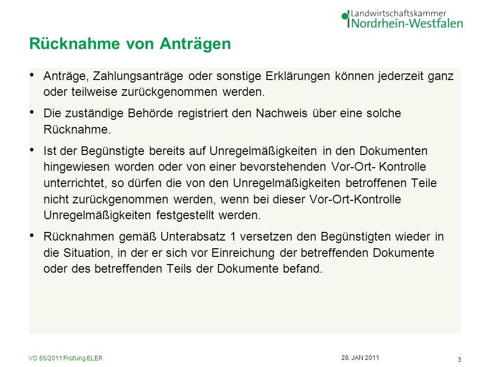 VO 65/2011 Prüfung ELER 14 28.