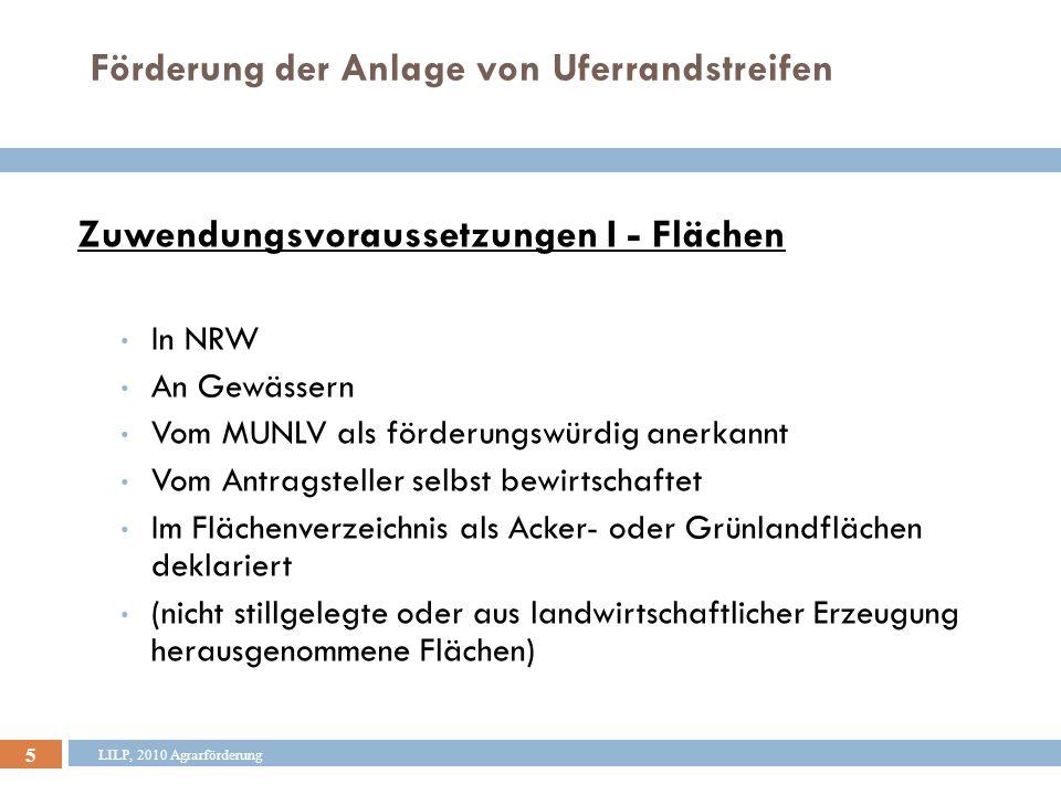 6 Bewirtschaftungs- grenze Grünland Max.15 m Mind.