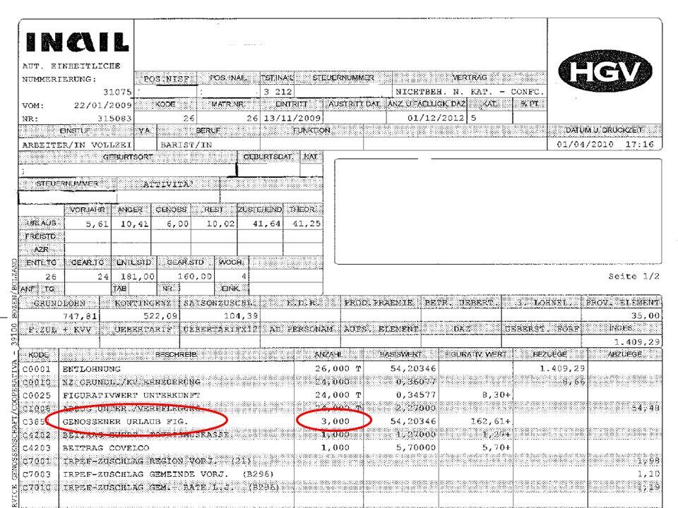 Arbeitsverträge im Hotel- und Gastgewerbe Lohnkostenberechnungen Lohnkostenberechnung Abspüler/in Lohnkostenberechnung Servierer/in Lohnkostenberechnung Zimmermädchen