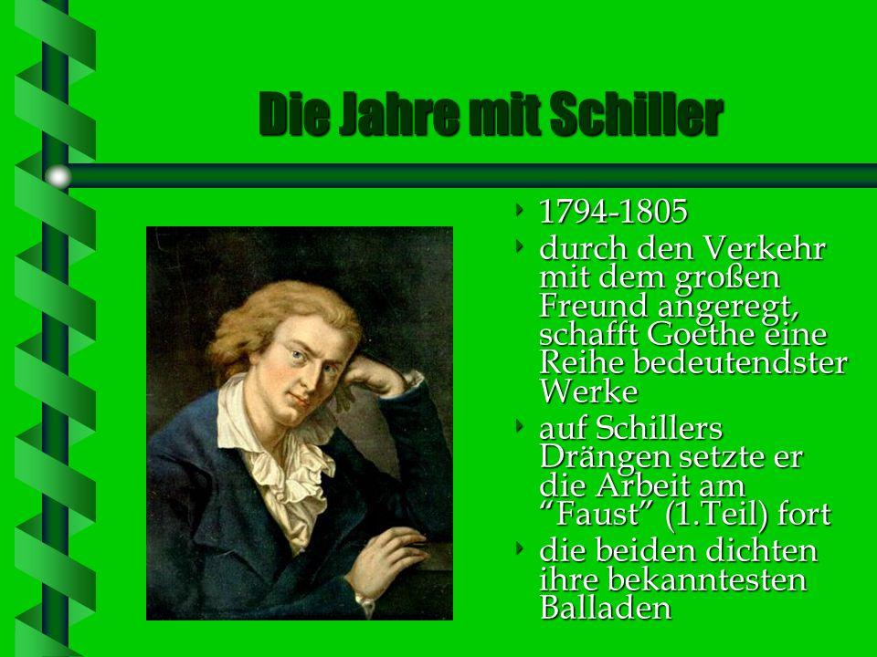 Flucht nach Italien 1786-1788 die klassische Periode in Goethes Schaffen Iphigenie auf Tauris Egmont