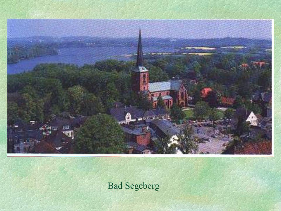 Stadtplan Bad Segeberg