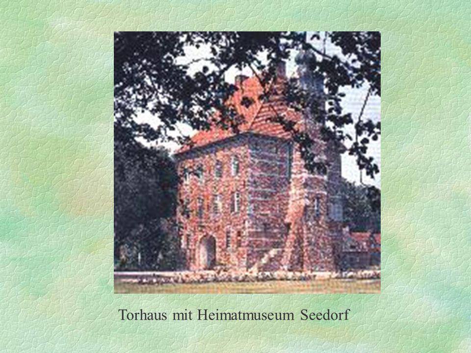 Torhaus mit Heimatmuseum Seedorf