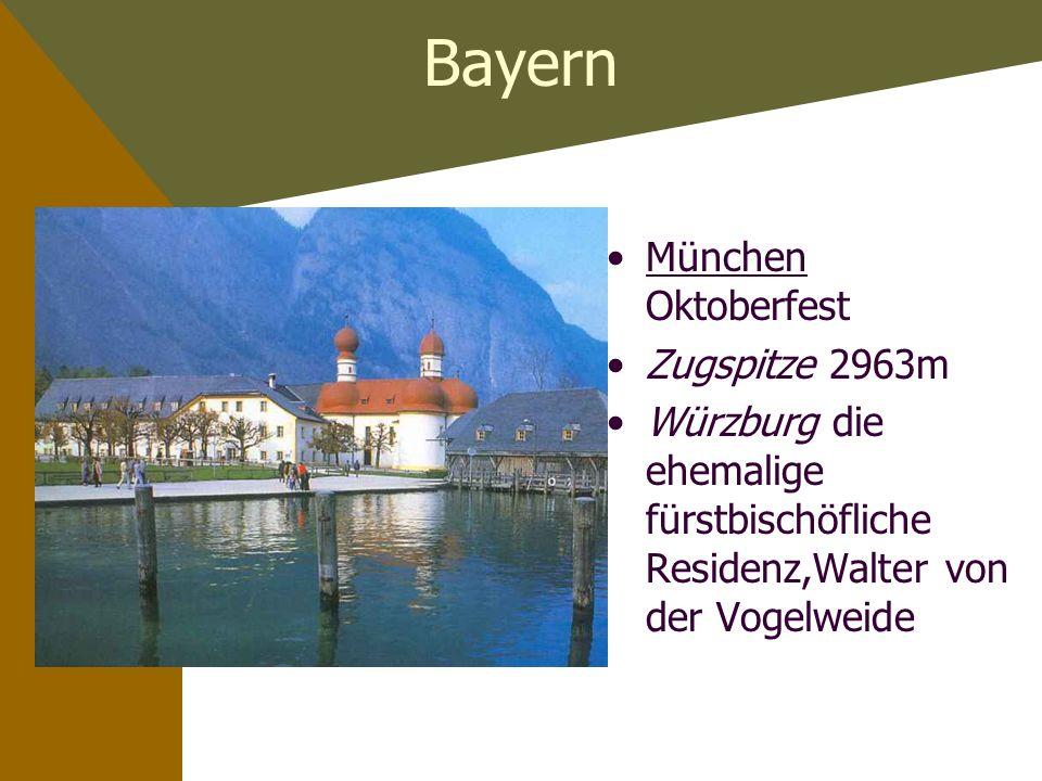 Baden-Württenberg Stuttgart Ballett BodenseeBodensee das Schwäbische Meer HeidelbergHeidelberg 1386 gegründete älteste Uni Deutschlands
