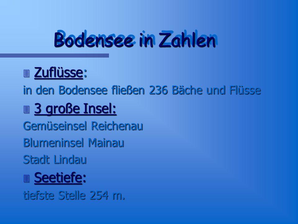 Bodensee schwäbisches Meer das Drei-Länder-Meer