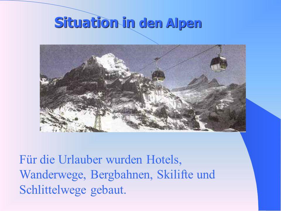 Die Alpen-eine weisse Märchenwelt