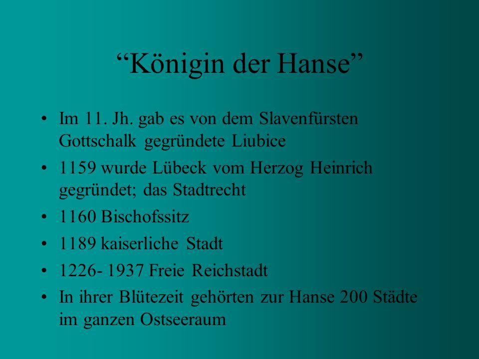 Hansestadt Lübeck Marzipanstadt an der Trave Geschichte und Kultur auf Schritt und Tritt