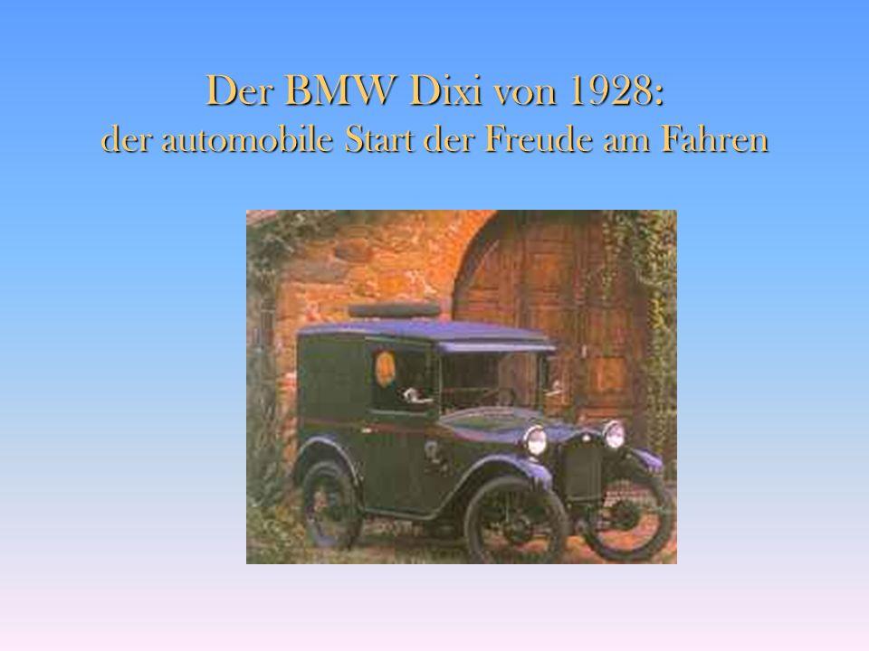 Freude am Fahren BMW
