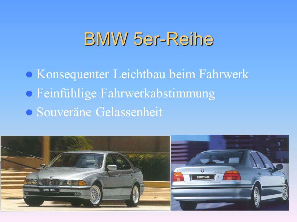 BMW 3er-Reihe Technik von morgen Dynamik in jeder Form Die Harmonie aus Sportlichkeit und Eleganz