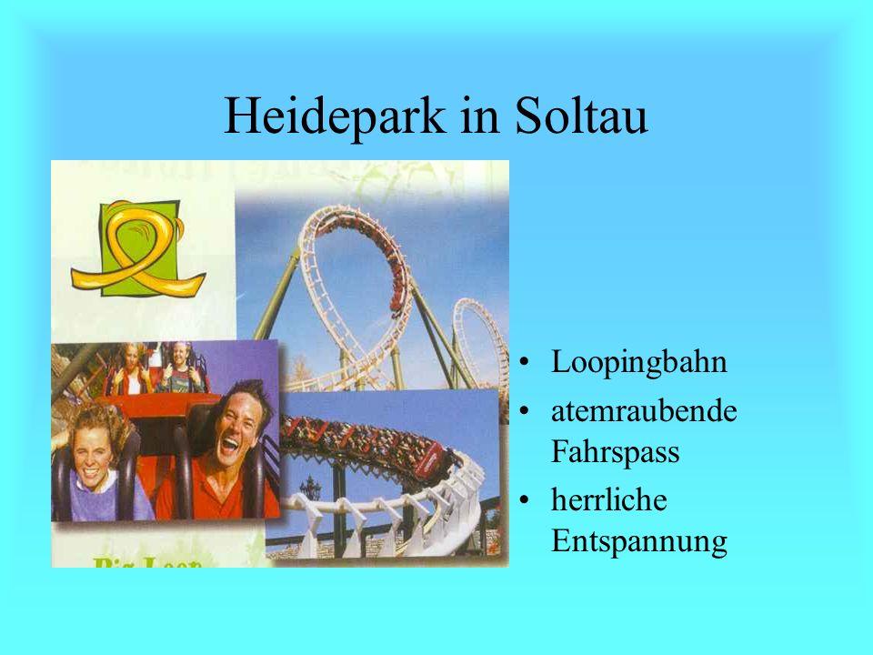 Heidepark in Soltau 850 000 m² schöne Parklandschaft