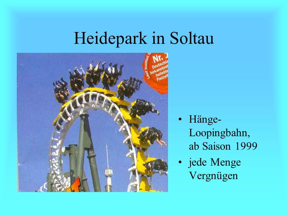 Heidepark in Soltau Loopingbahn atemraubende Fahrspass herrliche Entspannung