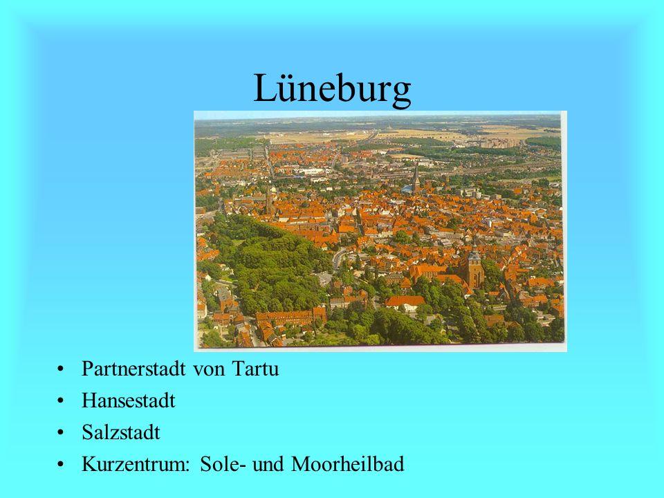 Hamburg Ein Bundesland Freie- und Hansestadt Hafenstadt 1,7 Millionen Einwohner - mehr als Estland hat