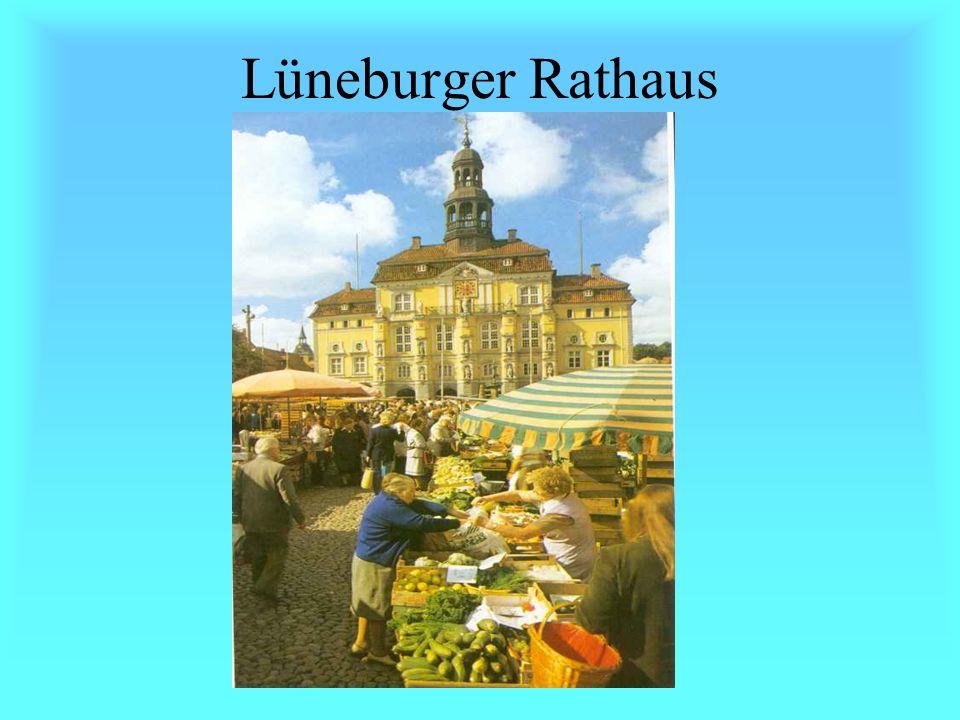 Lüneburg Partnerstadt von Tartu Hansestadt Salzstadt Kurzentrum: Sole- und Moorheilbad