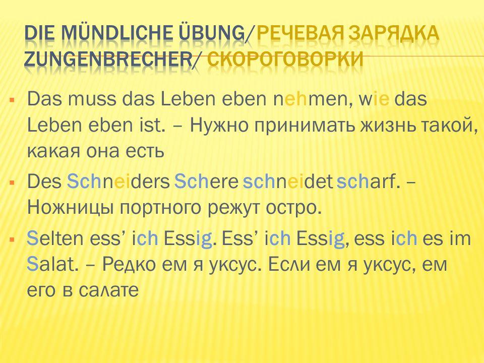 Die Sehenswürdigkeiten Достопримечательности … einer deutschen Stadt одного немецкого города Welcher – ihr musst das raten/ Какого – вы должны угадать