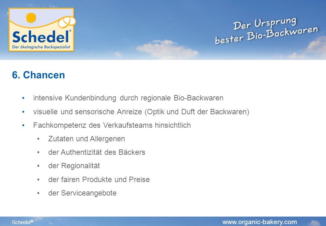 Schedel ® www.organic-bakery.com 6.