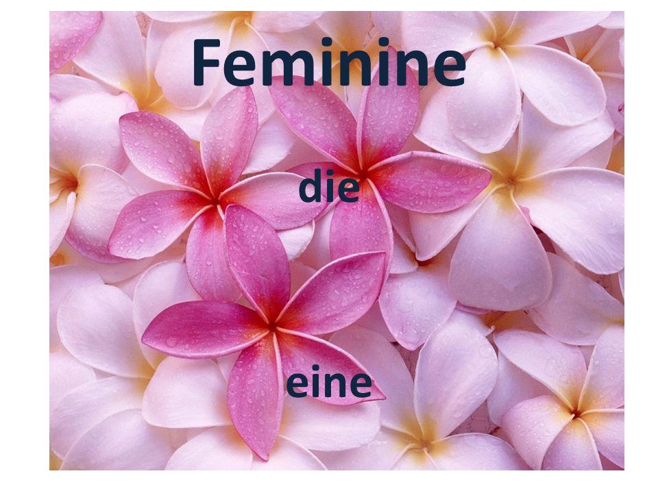 Feminine die eine