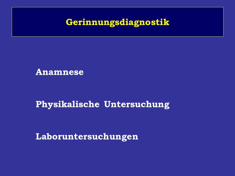 Gerinnungsdiagnostik Anamnese Physikalische Untersuchung Laboruntersuchungen