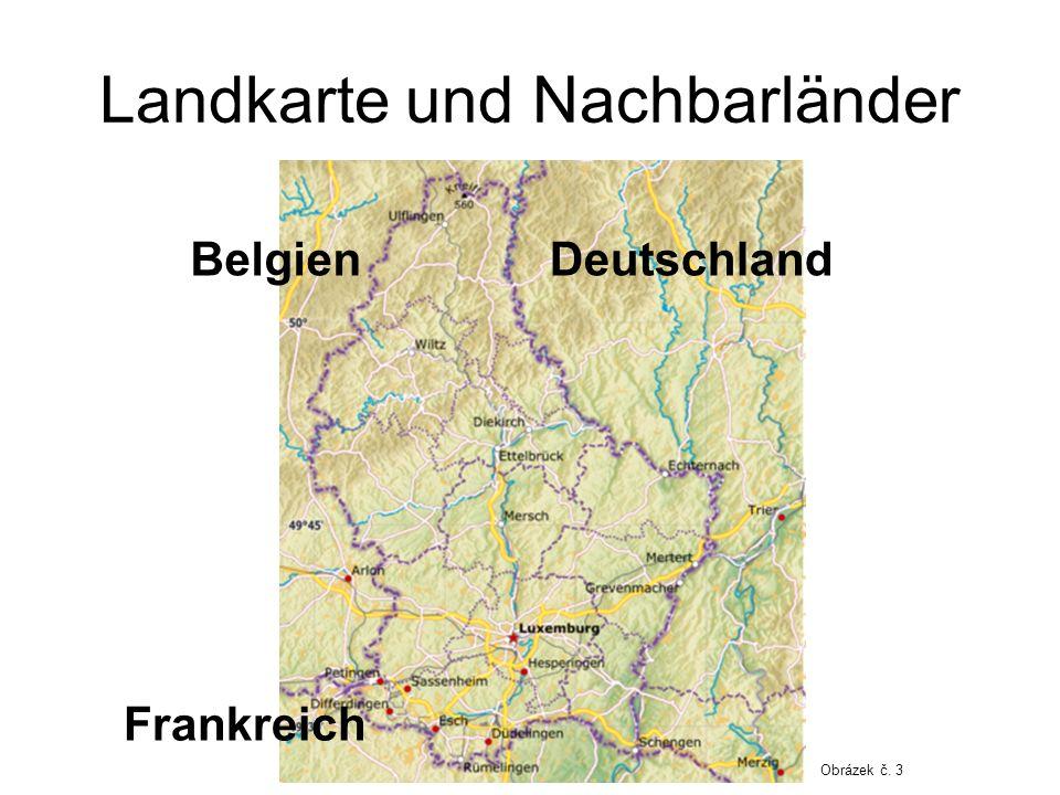 Landkarte und Nachbarländer Belgien Frankreich Deutschland Obrázek č. 3